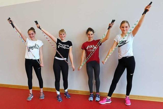 Rope-Skipperinnen aus Auggen treten bei der EM an