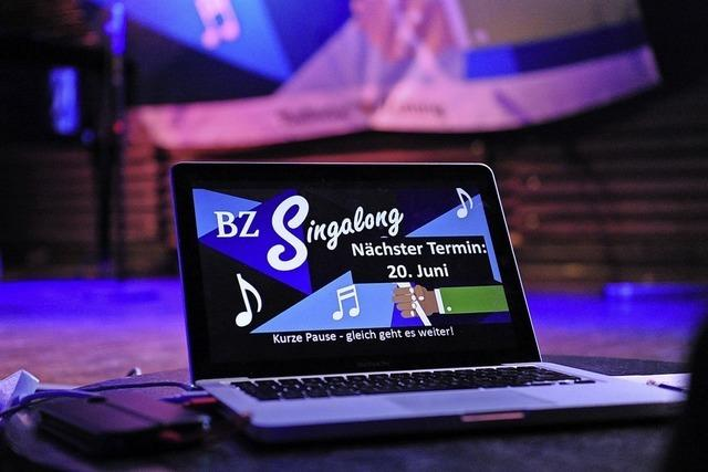 BZ-Singalong geht in die nächste Runde