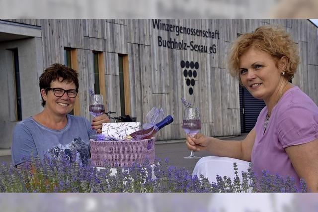 Die Winzergenossenschaft lädt zum Lavendelfest