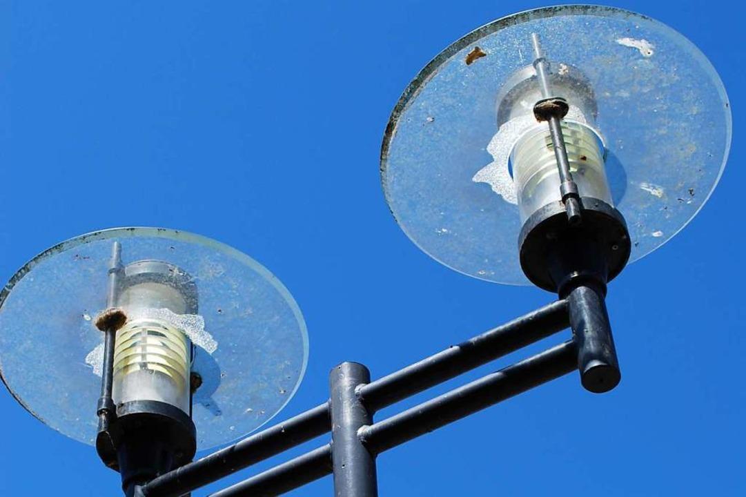 Das sind die vorhandenen Lampen &#8211...lagerten Reste sind bald aufgebraucht.  | Foto: Sylvia-Karina Jahn