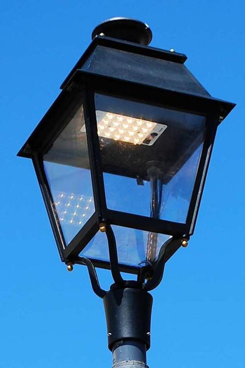 Auch historisierend ist mit LED möglich  | Foto: Sylvia-Karina Jahn