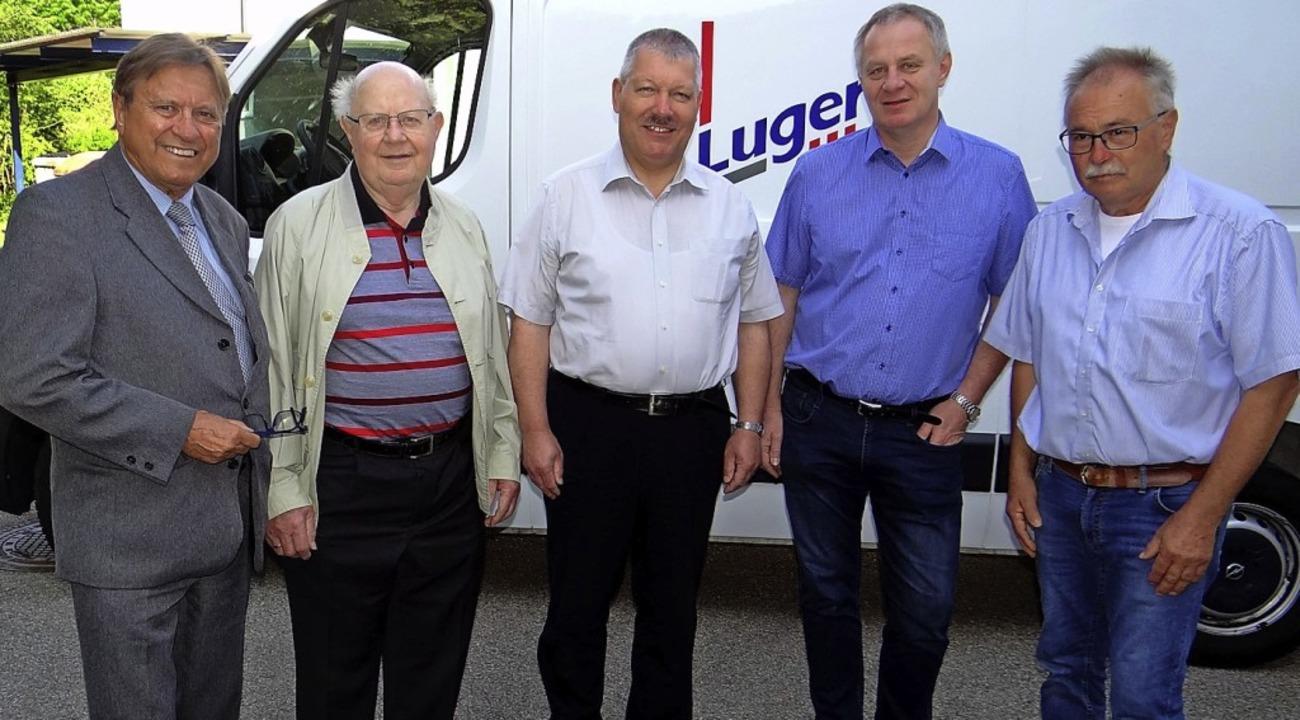 <BZ-Keyword>Besuch in der Firma Luger ...eises in Bad Säckingen, Klaus Kummle.   | Foto: Privat