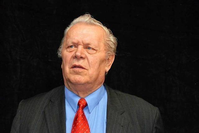 Trauer um Ehrenkirchens Alt-Bürgermeister Karl Ruch
