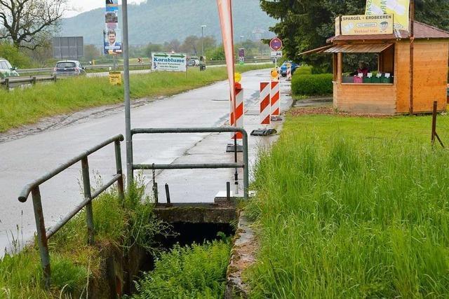 Der Dorfbach in Rheinfelden-Nollingen wird wohl freigelegt