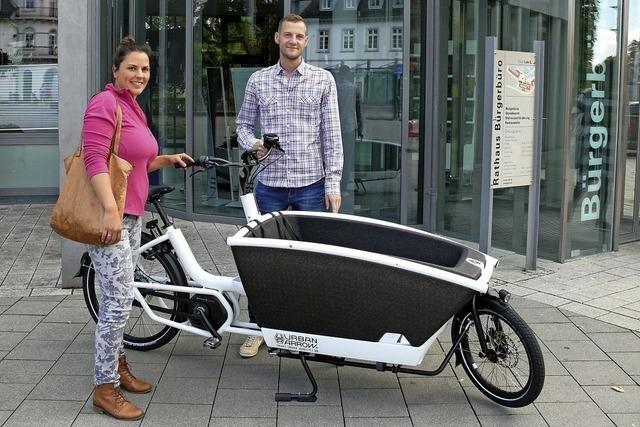 Test für Lastenräder läuft in Lahr an