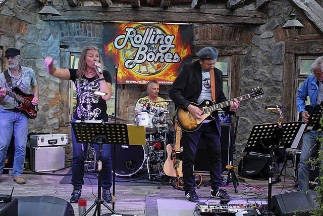Rolling Bones mit Hits von den Stones