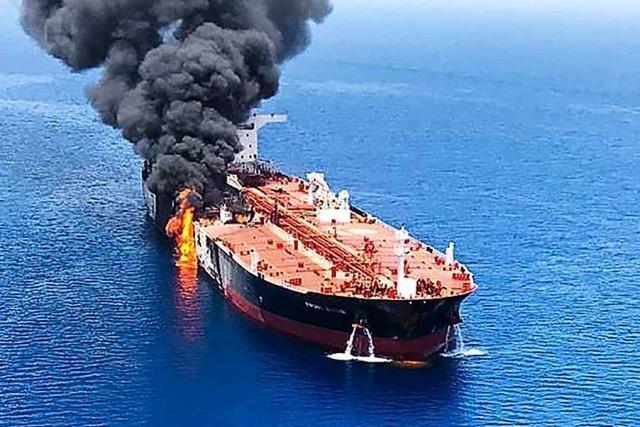 Zwischenfälle im Golf von Oman heizen Kriegsgefahr an
