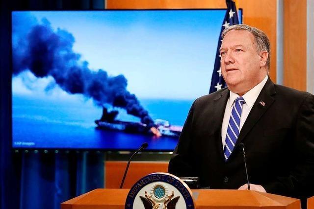 USA machen den Iran für Angriffe verantwortlich – Sorge vor Eskalation