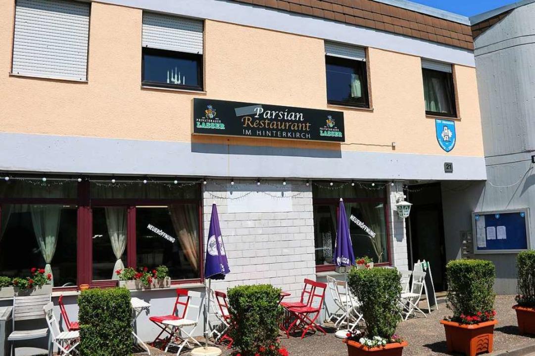 Das Restaurant befindet sich im Verein...ia Zähringen an der Hinterkirchstraße.  | Foto: Hannes Selz