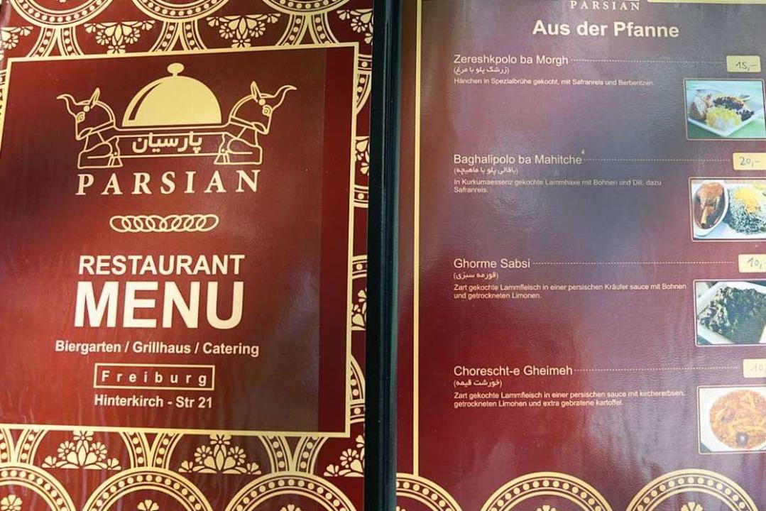 Die Karte zeigt die verschiedenen Gerichte mit Bildern.  | Foto: Hannes Selz