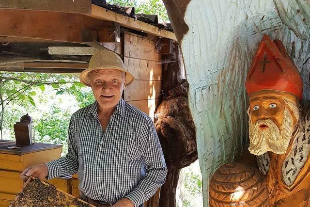 Seit 60 Jahren ist Paul Isenmann ein Imker mit Leib und Seele