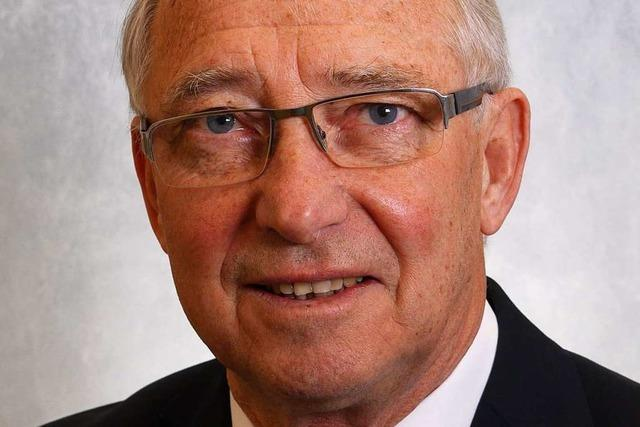 Der langjährige Neuenburger Stadtrat Gerhard Speck ist tot
