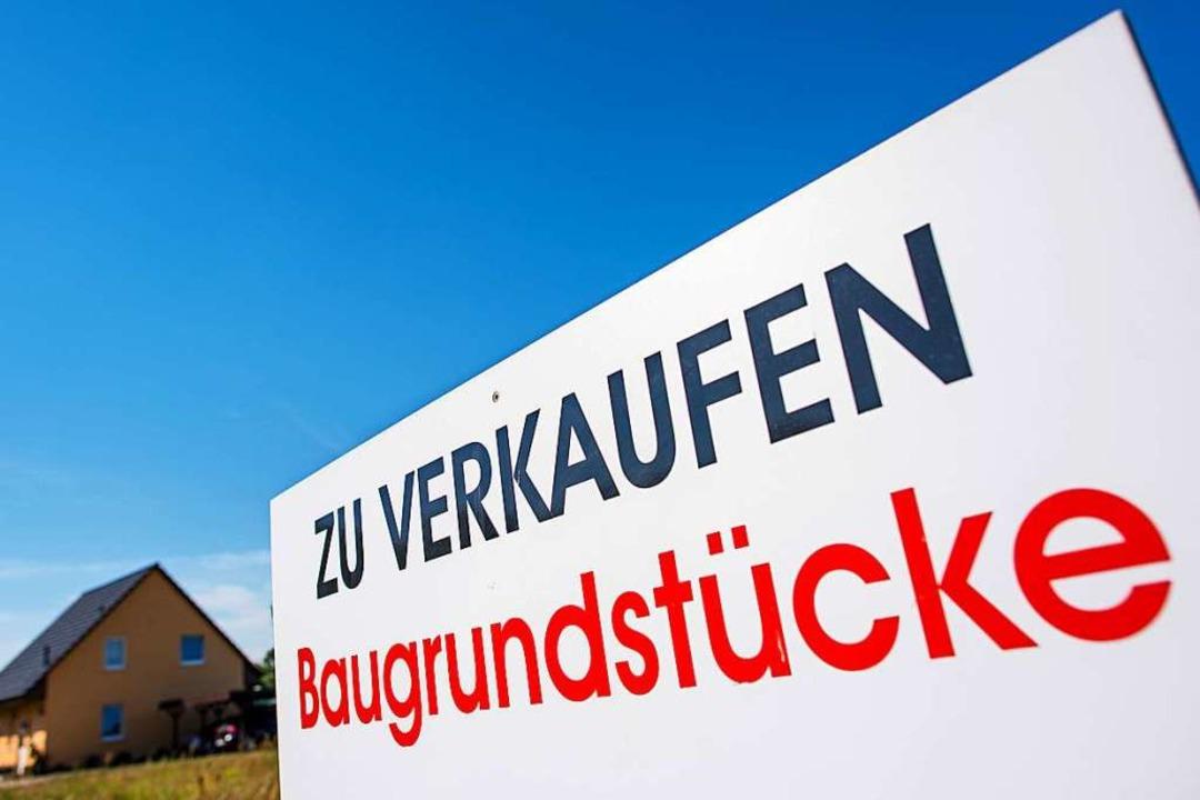 In Freiburg gibt es zu wenige Angebote...n deshalb hoch gehandelt (Symbolbild).  | Foto: Patrick Pleul