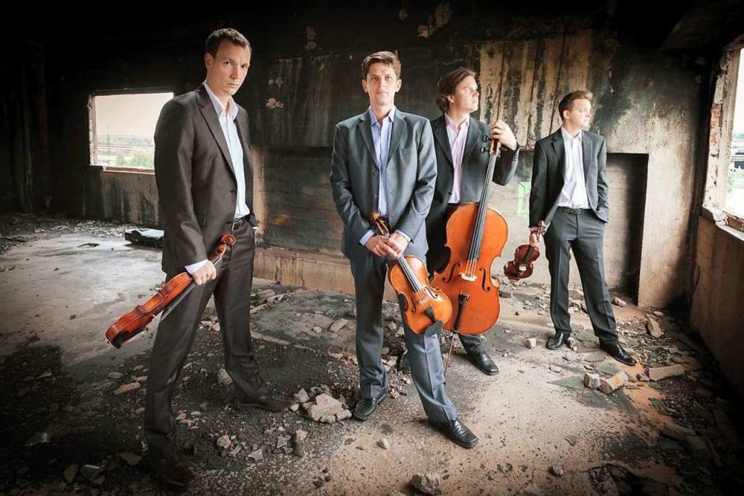 Das renommierte Bennewitz-Quartett gastiert am Samstag im Schloss Bonndorf.  | Foto: Kamil Ghais