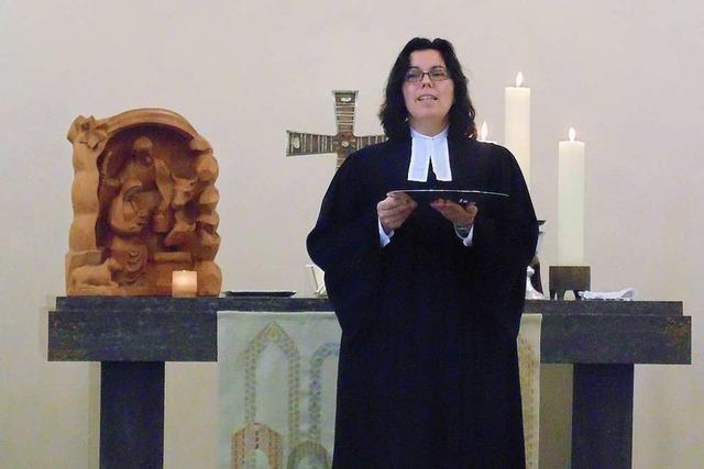Die ehemalige Stadtpfarrerin Natalie Wiesner arbeitet jetzt in Leimen