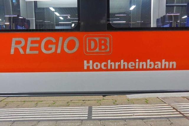Planfeststellung für Elektrifizierung der Hochrheinbahn soll 2020 starten