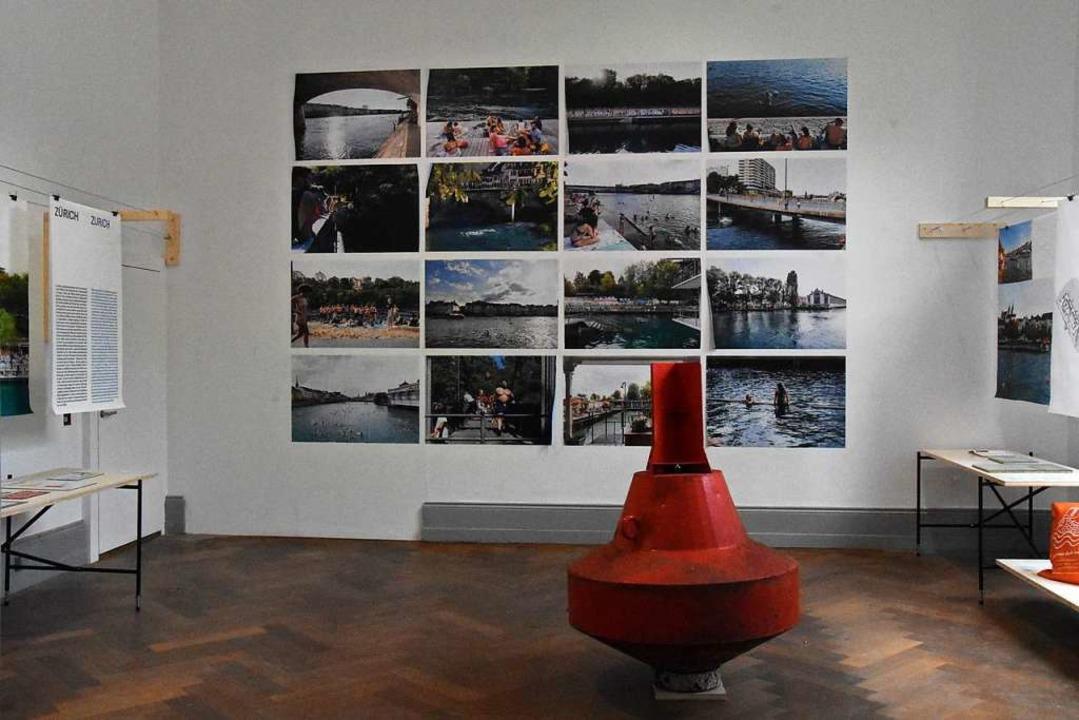 Blick in die Ausstellung    Foto: Kathrin Ganter