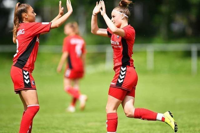 Die B-Juniorinnen des SC Freiburg spielen um deutsche Meisterschaft