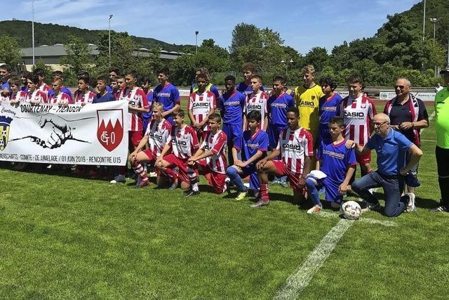 Gäste aus Frankreich beim FC Tiengen