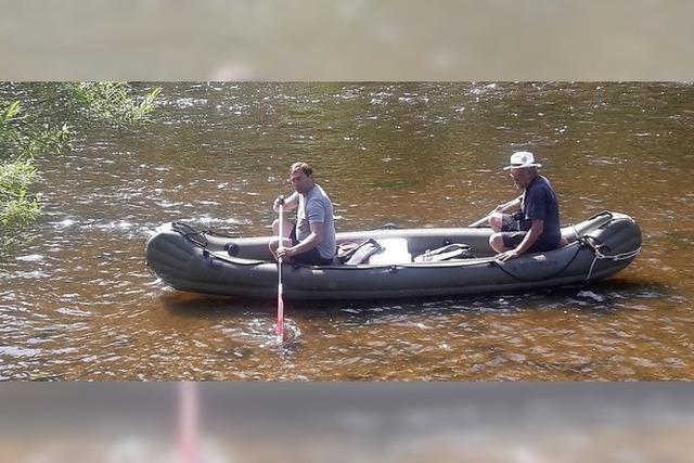 Fluß-Abenteurer passieren Budweis