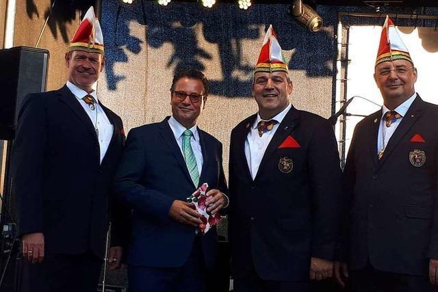 Minister Peter Hauk hielt die Festansprache beim Breisacher Stadtjubiläum