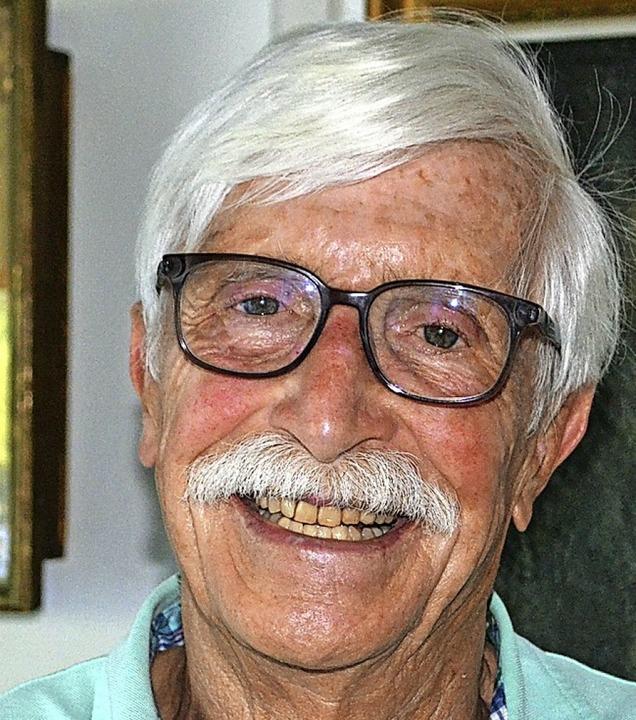 Kräuterexperte Frank Hiepe feiert  seinen 80. Geburtstag  | Foto: Paul Berger