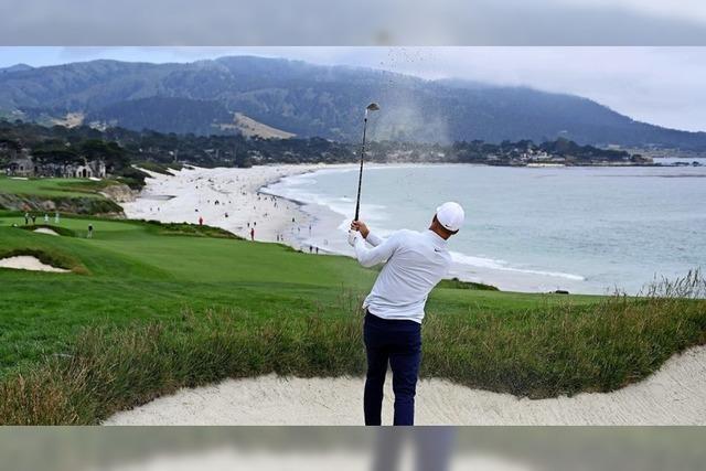 Golfspielen mit Aussicht
