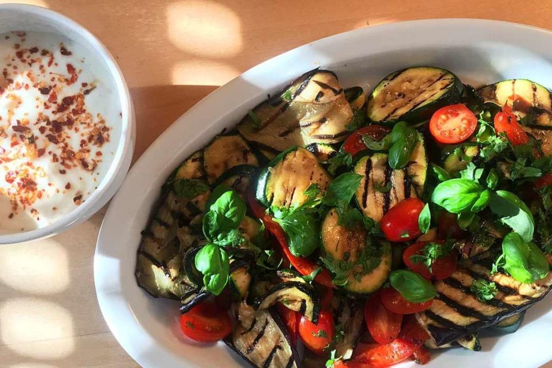 Gebratenes Gemüse schmeckt am besten, ...der in der Grillpfanne zubereitet wird  | Foto: Stechl