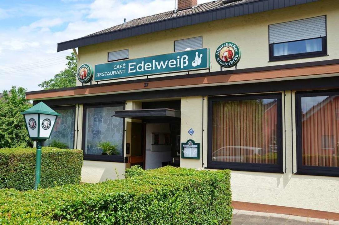 Das Café Edelweiß  | Foto: Alfred Arbandt