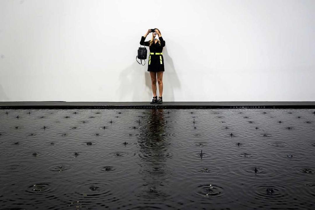 Impressionen von der Art Basel  | Foto: FABRICE COFFRINI (AFP)