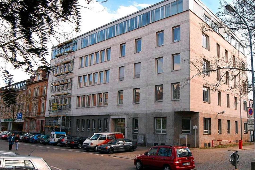 Der Gebäudekomplex Rempartstraße 10-16 in der Freiburger Innenstadt. Archivbild.  | Foto: Thomas Kunz