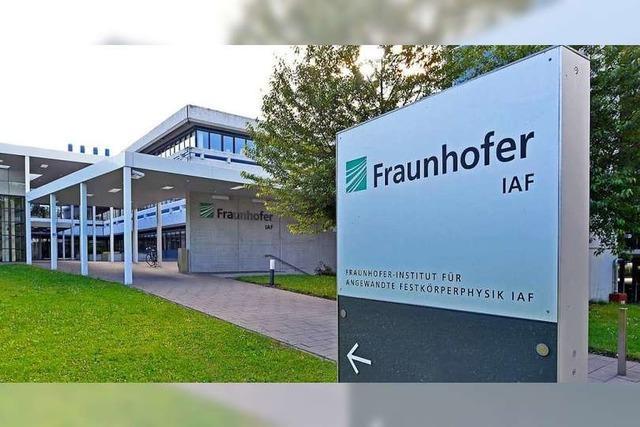 Freiburgs Fraunhofer-Institute sind Weltspitze in der Forschung