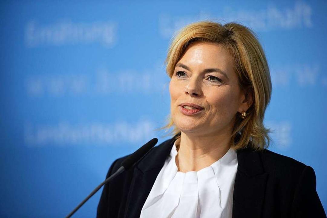 Julia Klöckner  | Foto: Lisa Ducret (dpa)