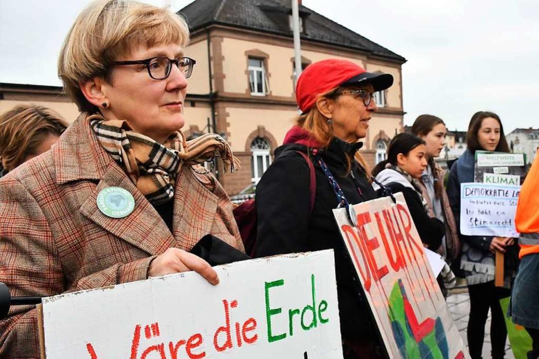 Julia Wiech (vorne)  | Foto: Barbara Ruda