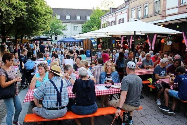 Entgegen aller Unkenrufe kann am 29. und 30. Juni in Schopfheim wieder das Städtlifest gefeiert werden