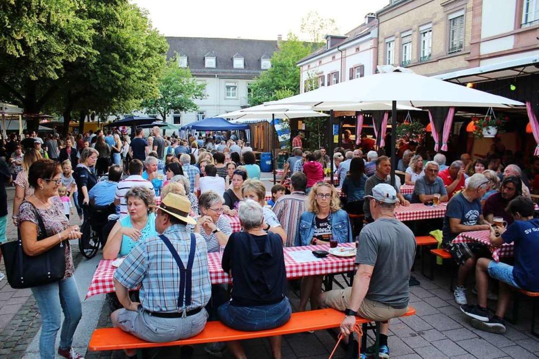 Am 29. und 30. Juni soll auf dem Markt...ie beim Städtlifest 2018 (Archivbild).  | Foto: Anja Bertsch