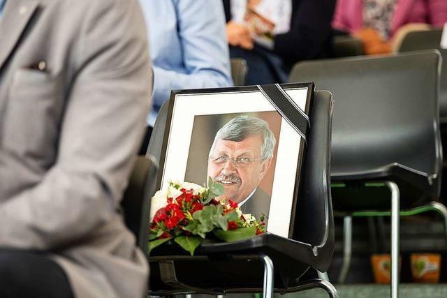 Festnahme im Fall des getöteten Regierungspräsidenten Lübcke