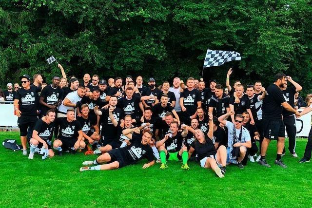 Geschafft! Der SC Offenburg steigt in die Landesliga auf