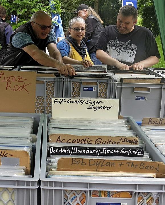 Siebter Büchermarkt mit Schallplattenbörse  | Foto: Georg Voß