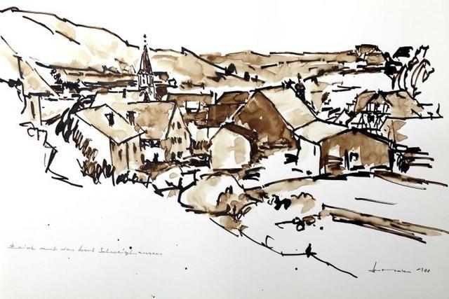 Ein Dorf wie gemalt