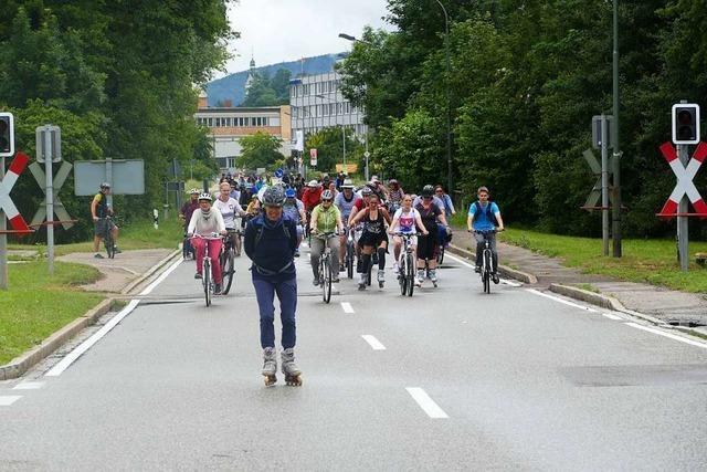 22.000 Teilnehmer bei der 16. Auflage des Slow-up Hochrhein