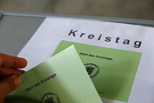 Wegen einer Wahlpanne schrumpft der Kreistag um einen Sitz
