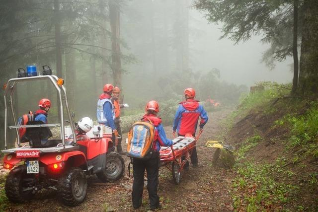 Bergwacht Waldkirch hat am Wochenende zwei Einsätze