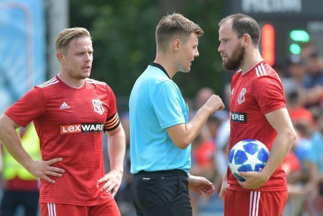 Kein Wunschresultat für den Freiburger FC im Hinspiel