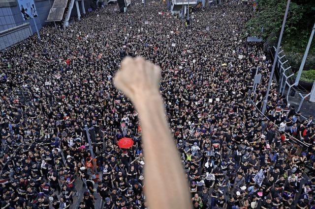 Wieder Massenproteste in Hongkong