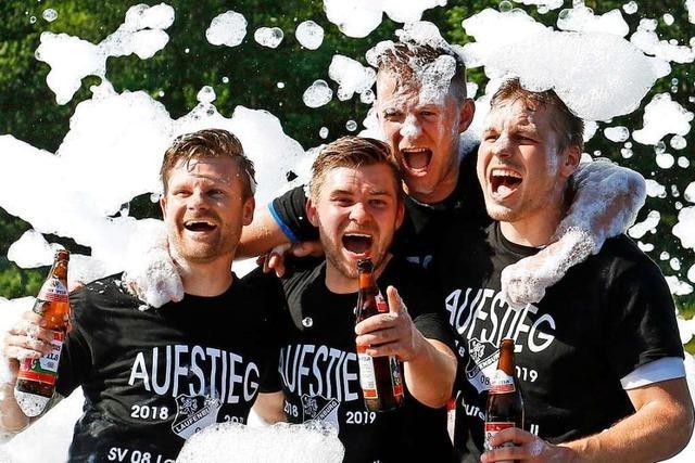 Doppelmeister: Auch SV 08 Laufenburg II macht Titelgewinn perfekt