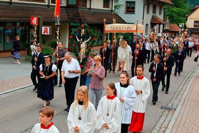 Katholiken feiern am Donnerstag Fronleichnam