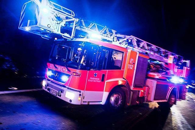 Wieder Alarm in Herbolzheim: Die nächste Scheune brennt