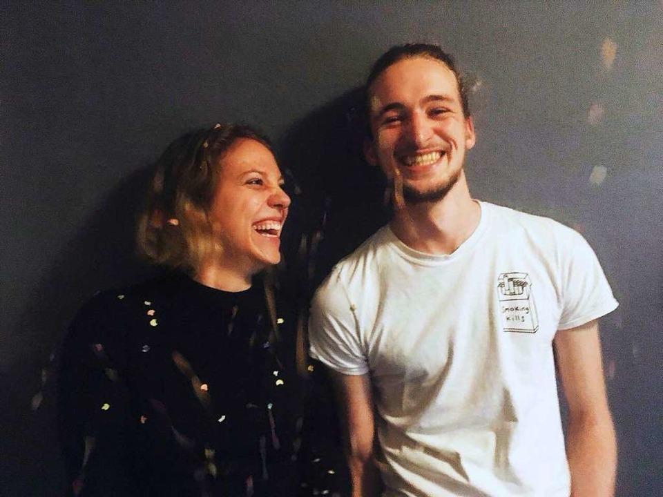 Kira Kurz und Leon Schmalstieg haben d...t und den Film mit ihrem Team gedreht.  | Foto: Nastassja Scheibenberger