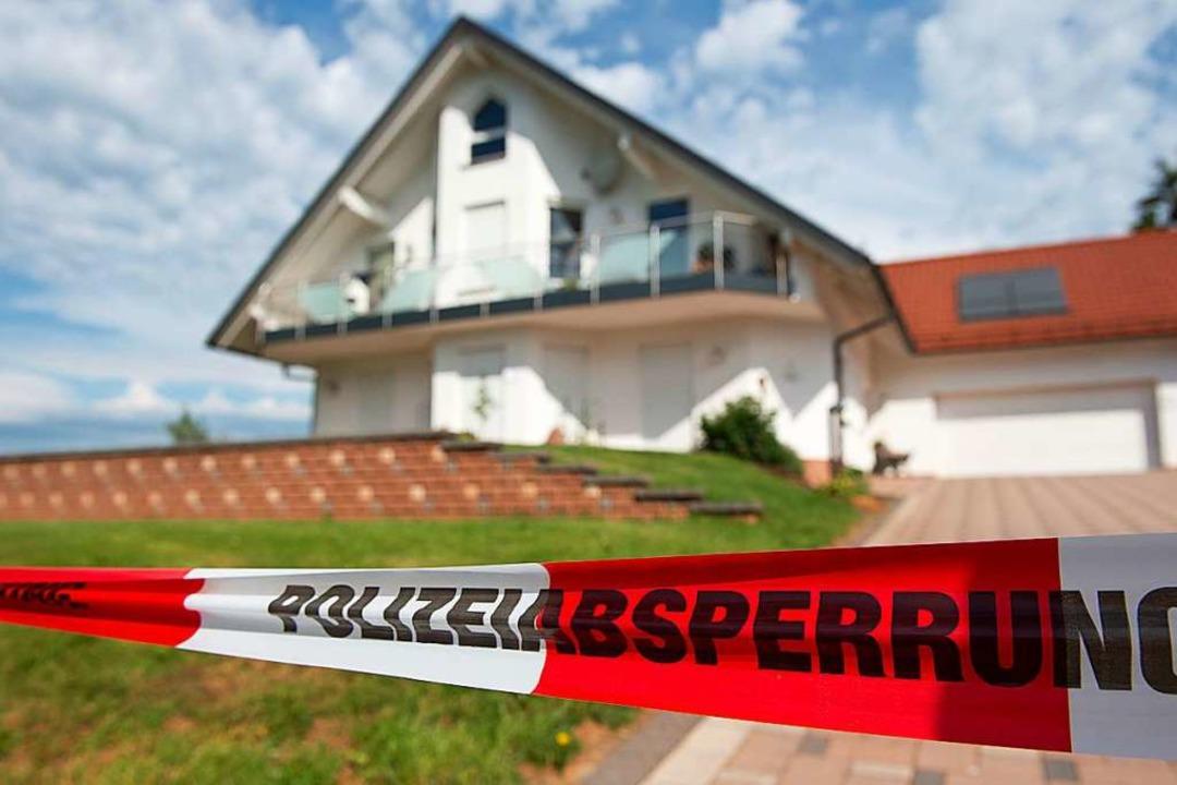 Der Tatort auf einem Archivbild.  | Foto: Swen Pförtner (dpa)